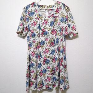 Vintage More En Focus floral fit and flare dress